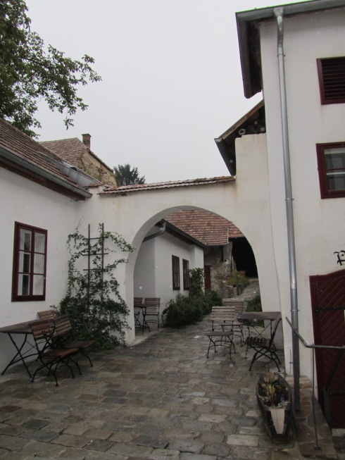 A typical Kamptal inner courtyard